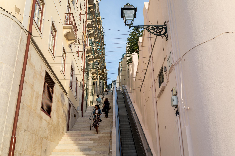 Escadas rolantes Martim Moniz