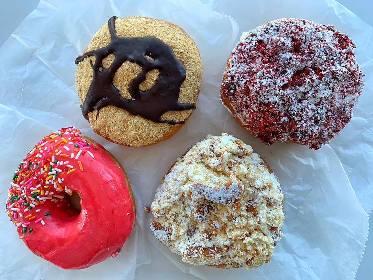 Snag some doughnuts from Peter Pan Bakery
