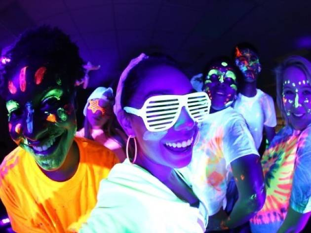 Glow in the Streets Block Party 2018