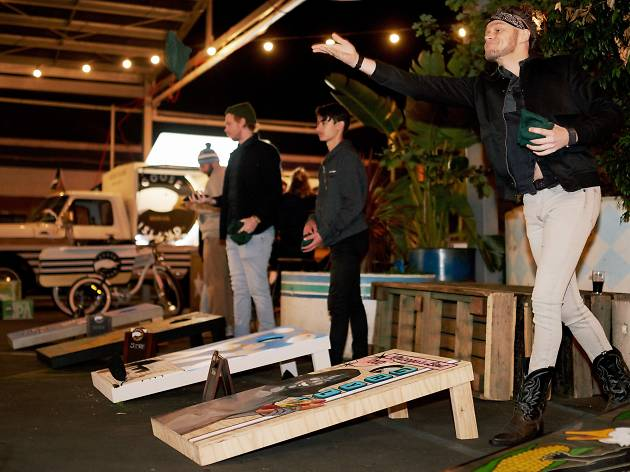 Goose Island and Public House Petersham Cornhole Tournament