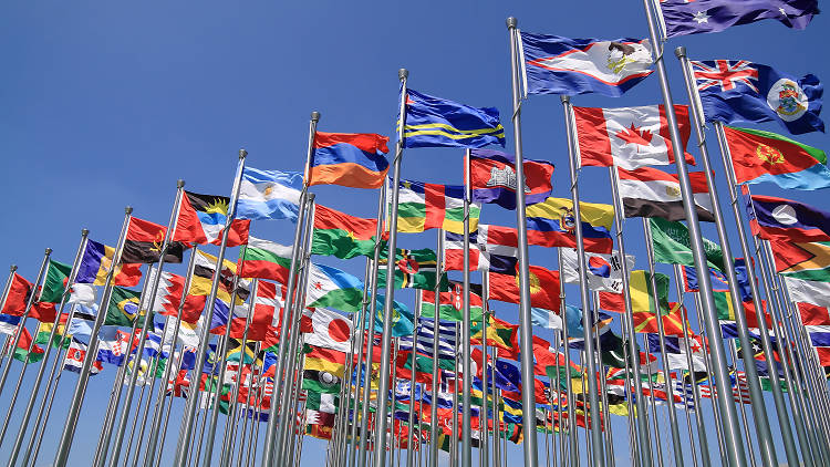 flags international all countries