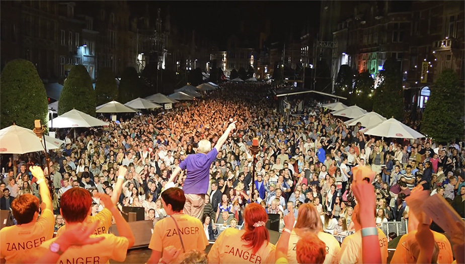 World Singing Day na Bélgica