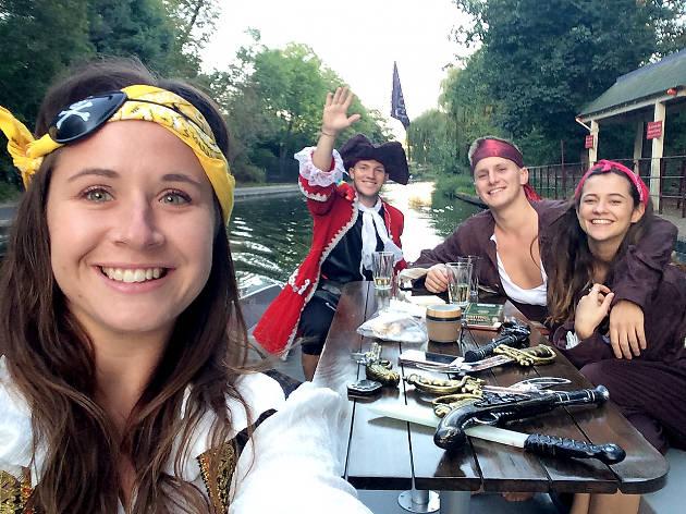 GoBoat Pirate Treasure Hunt