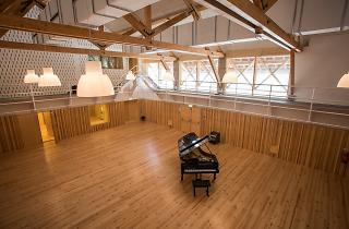 As novas instalações da Orquestra de Jazz de Matosinhos