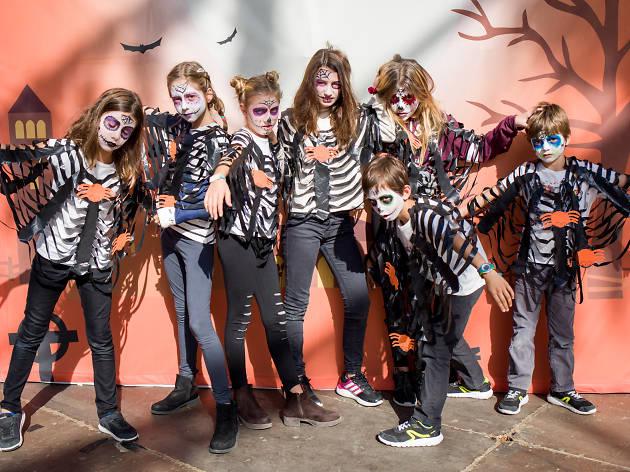 Halloween familiar en el Poble Espanyol