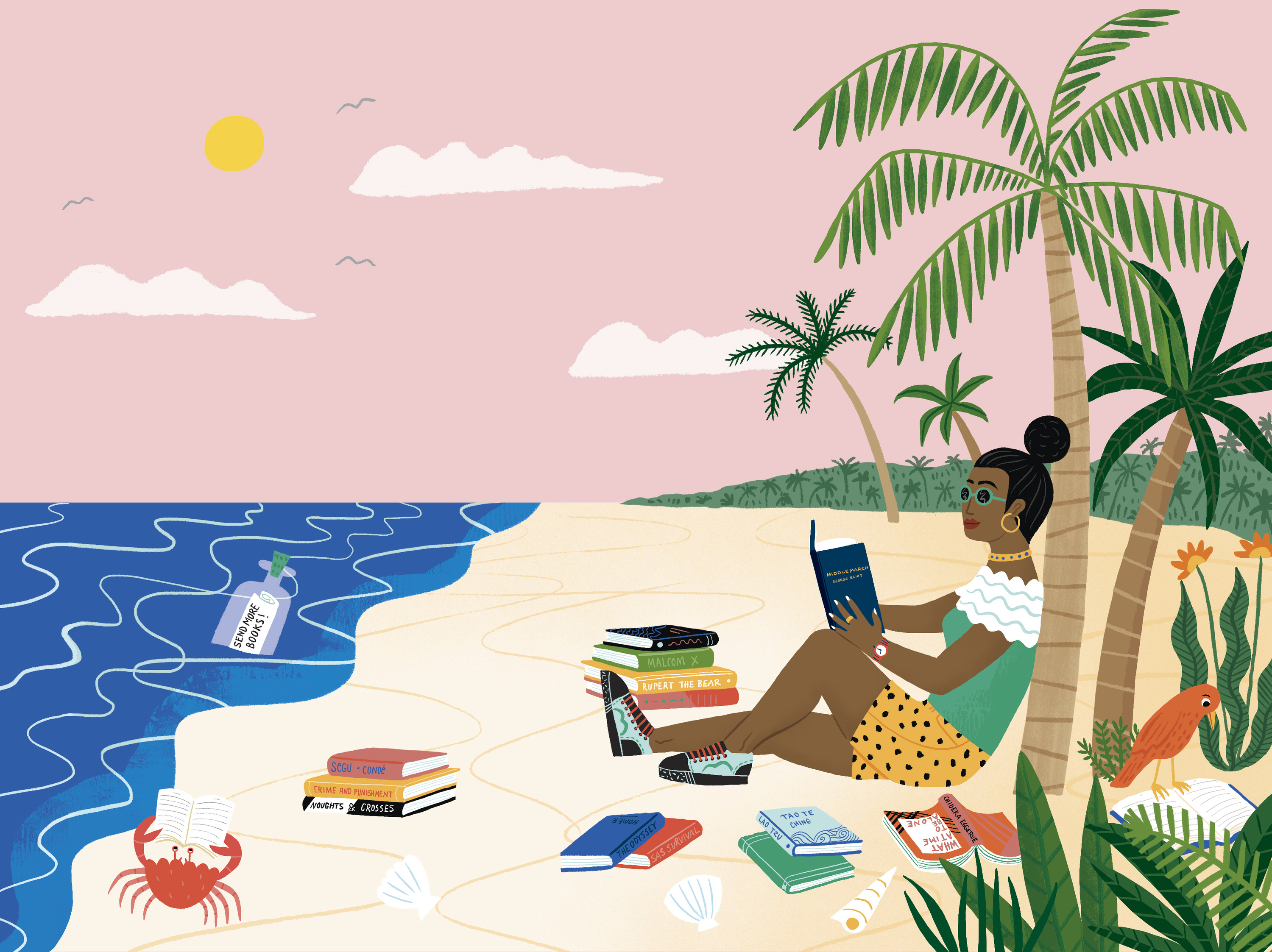 Sally Field, Riz Ahmed, Akala and more share their desert island books