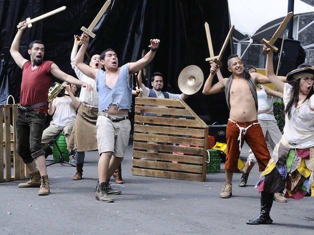 Paraíso Pirata (Foto: Ramona Miranda/ Secretaría de Cultura)