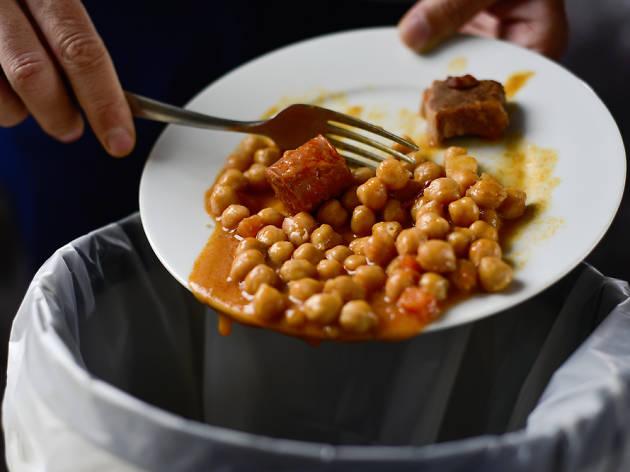 Menjar desaprofitat