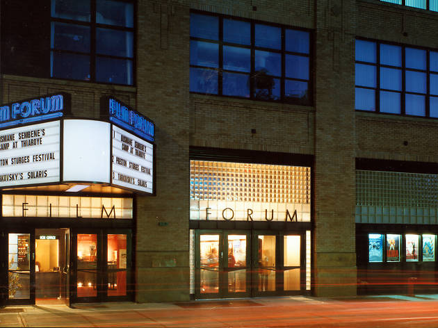 Film Forum marquee