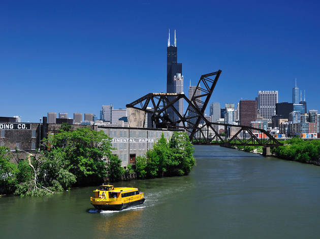 Could the Chicago River be home to the Windy City's next big transit idea?
