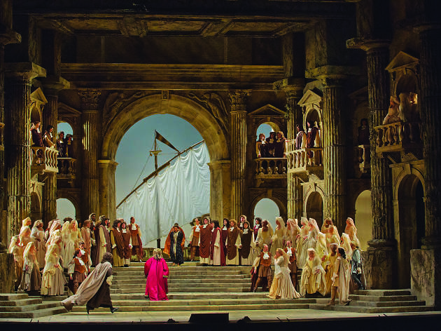 """Metropolitan Opera House Mozart's """"La Clemenza di Tito"""""""