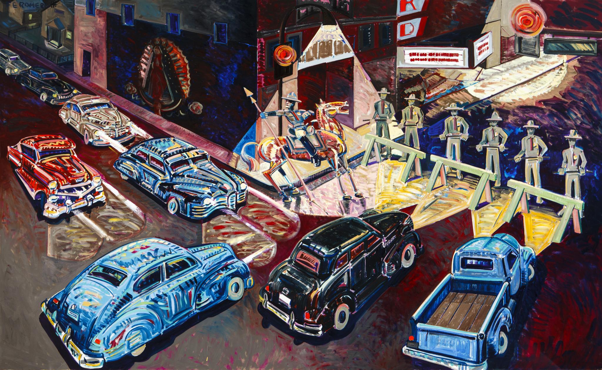 Construyendo Puentes: Arte chicano/mexicano de L.A. a CDMX en el MACG