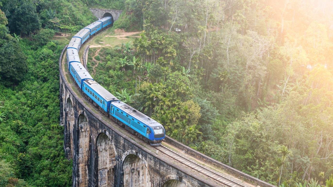 Sri Lankan Blue Train