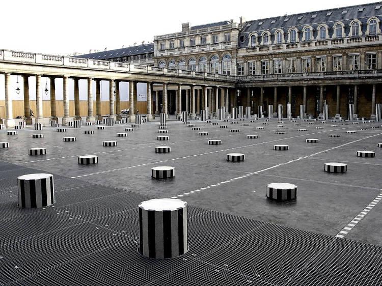 Tenter une partie d'échecs daltonienne avec les colonnes de Buren