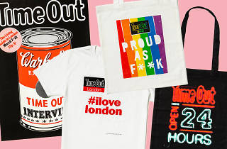 Time Out 50 merchandise