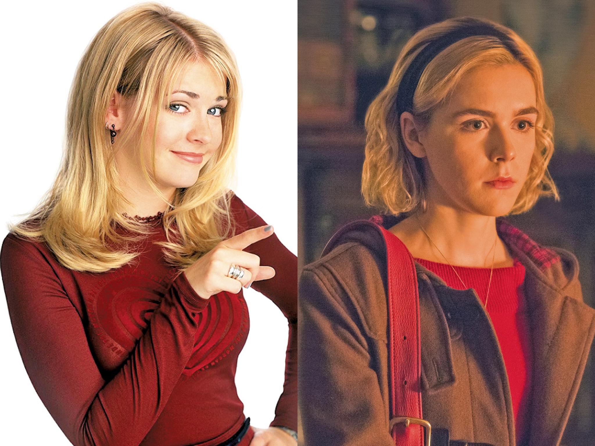 Las Sabrina de las diferentes series