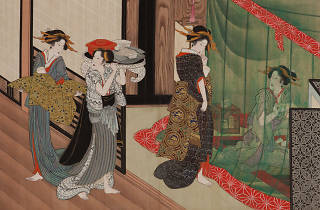 Utagawa Toyokuni. A painting from One Hundred Looks of Various Women, 1816.