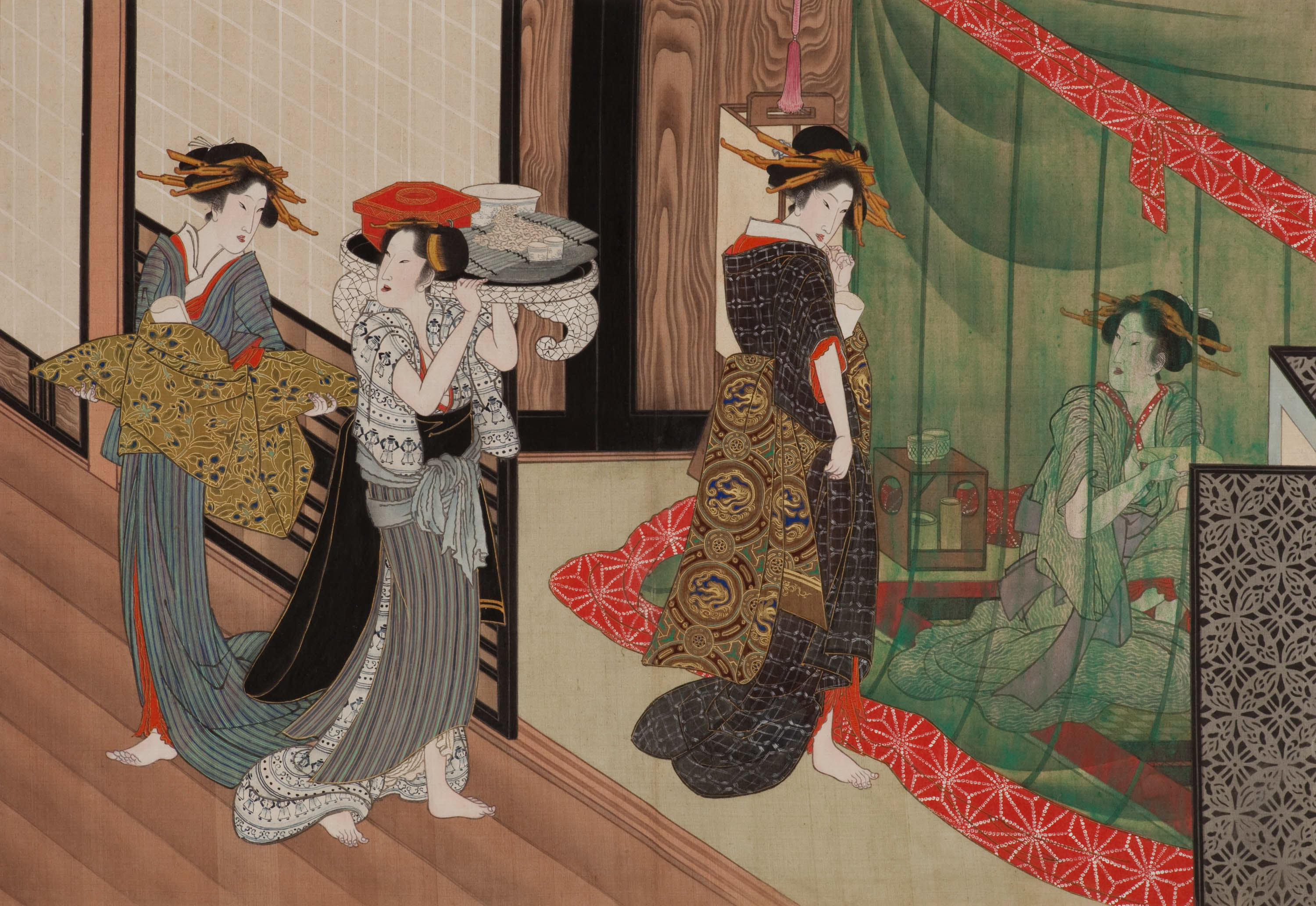 """""""Painting the Floating World: Ukiyo-e Masterpieces from the Weston Collection"""""""