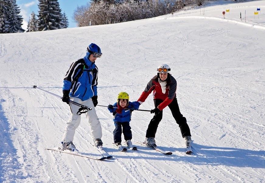 Family ski resorts near NYC