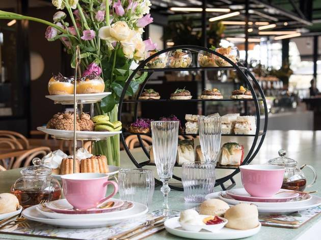 High tea at the Hatter and the Hare