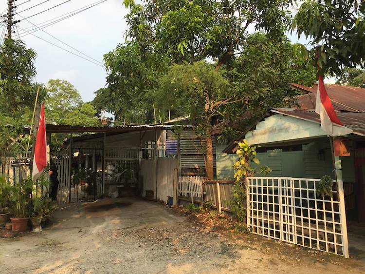 Walk down memory lane at Kampong Lorong Buangkok