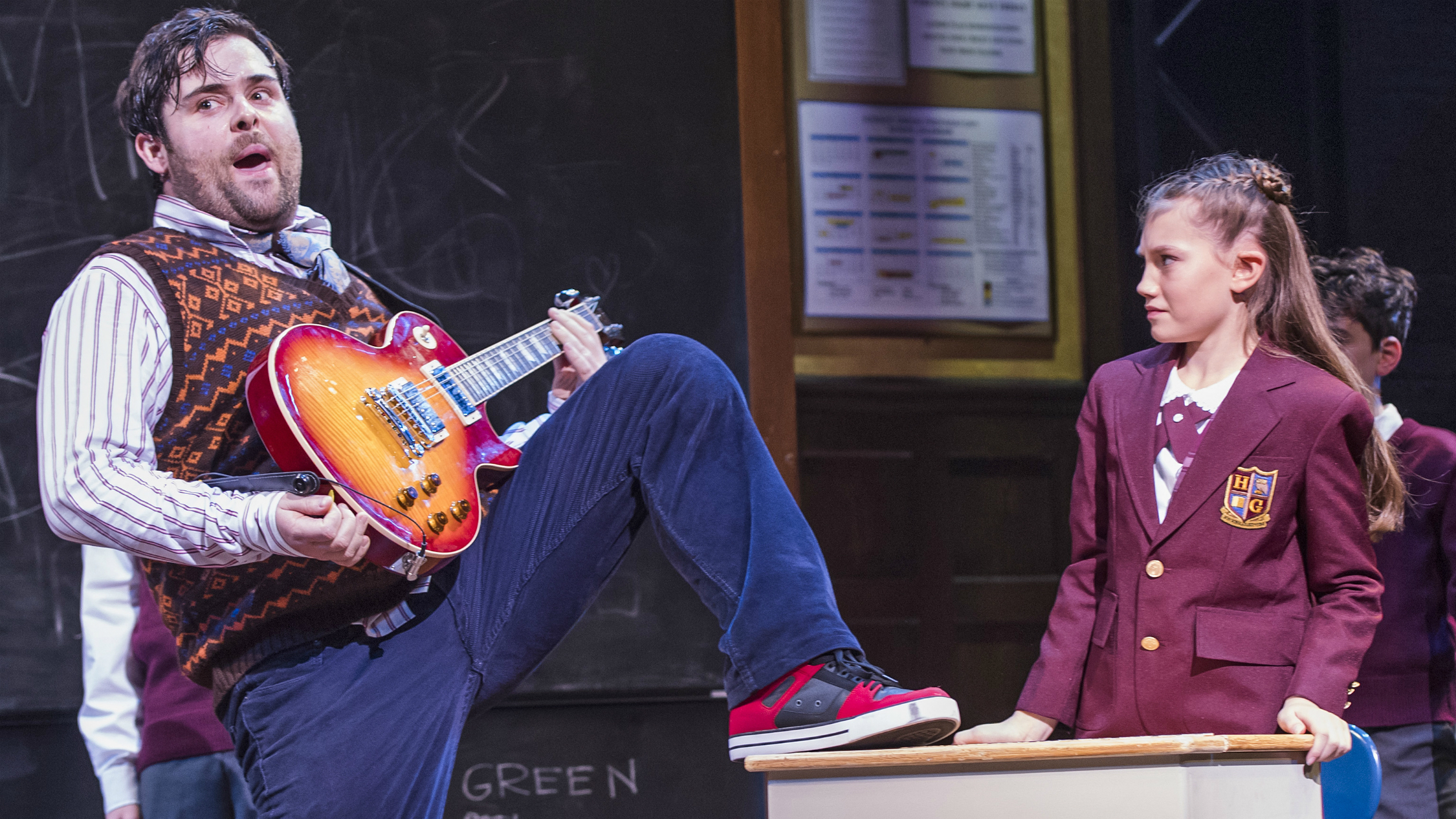 School of Rock 2018 London cast