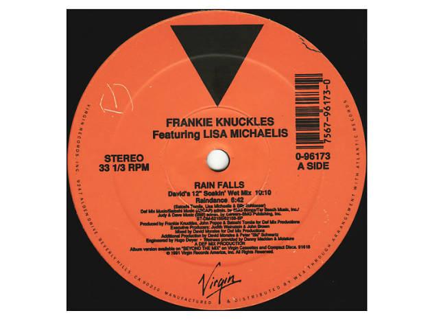 'Rain Falls' - Frankie Knuckles (David's Soakin' Wet Mix)