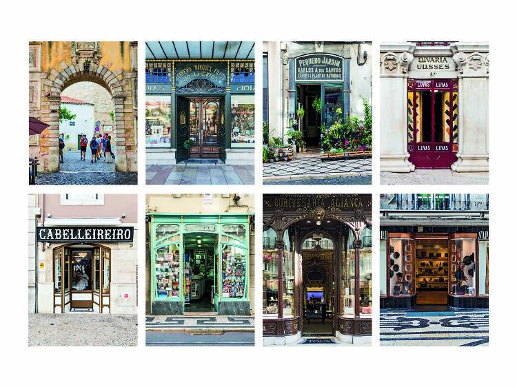 Consegue reconhecer algumas das portas mais bonitas de Lisboa?