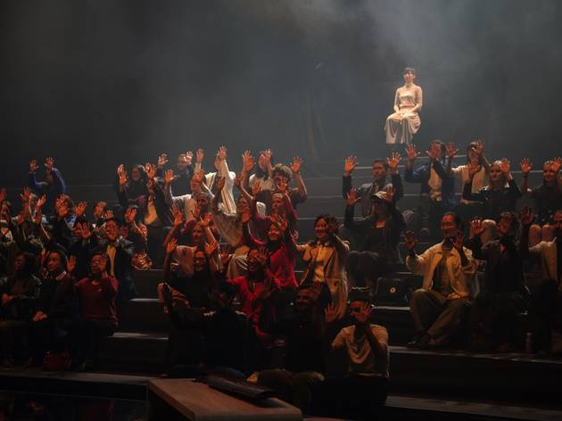 Production shot on stage at One Infinity