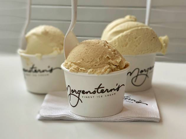 We tried french fry ice cream and all the other weird flavors at the new Morgenstern's
