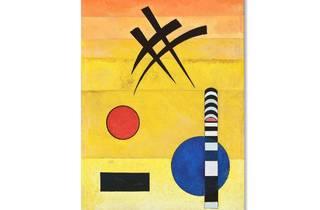 (Sign: Wassily Vasilyevich Kandinsky. Photo © Museum Associates/ LACMA D.R. © Wassily Kandinsky/ADAGP/SOMAAP/México/2018. Foto: Cortesía Museo del Palacio de Bellas Artes)