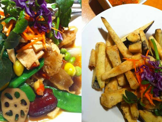 Food at Ivan and Lissie's Teahouse and Eatery