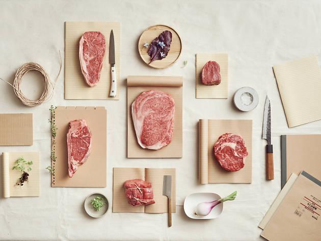 Steak tasting platter