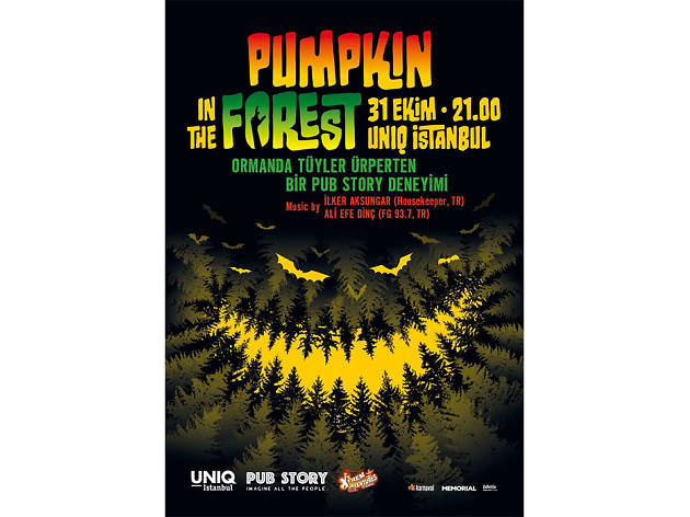 Halloween Partisi – Pumpkin in the Forest
