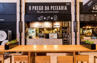 Time Out Market - O Prego da Peixaria