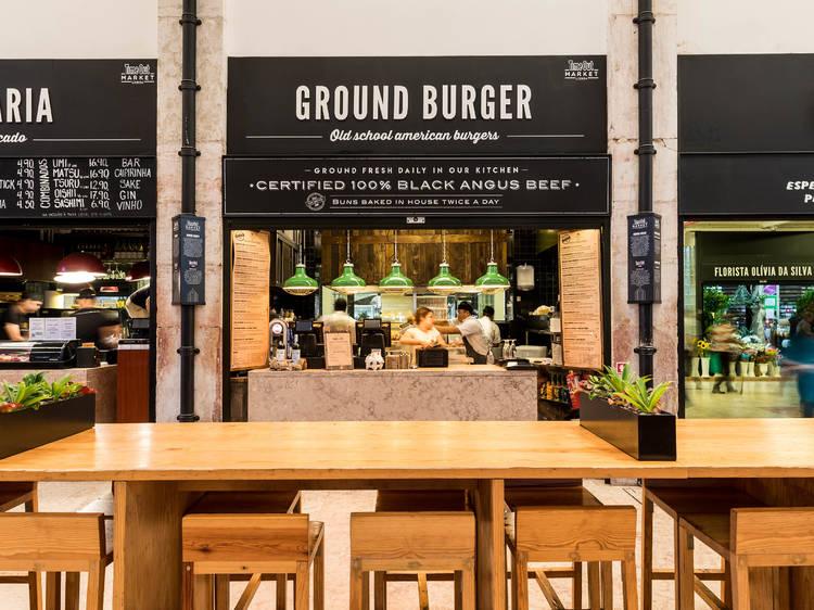 Veggie Burger do Ground Burger