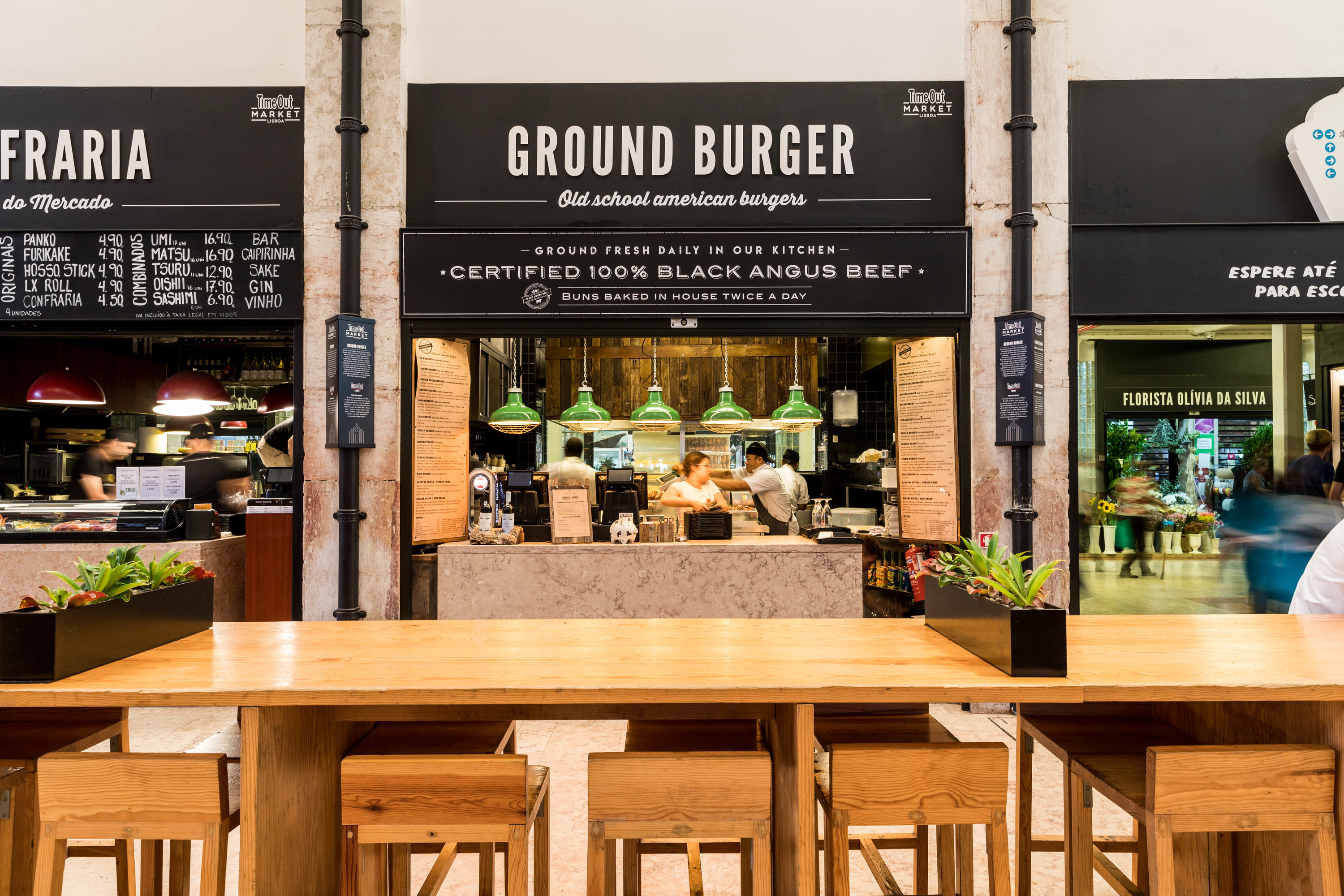 Time Out Market - Ground Burger