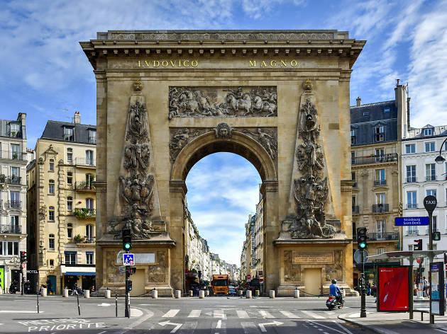 Entre los 50 barrios más cool del mundo está Strasbourg-Saint-Denis en París