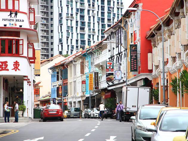 Entre los 50 barrios más cool del mundo está Tanjong Pagar en Singapur