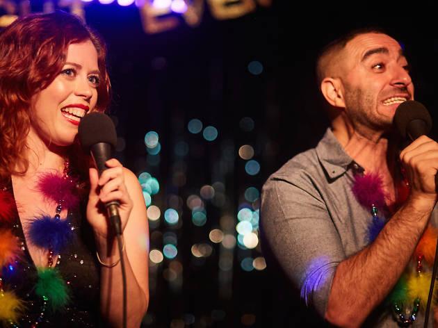 Chrissie Mary and Oscar Aydin
