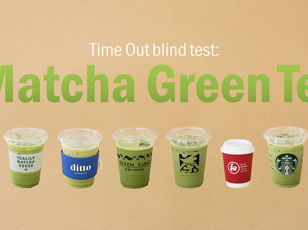 Blind taste test: Who has the best iced matcha latte in Bangkok?
