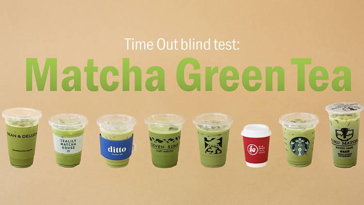 Blind taste test: iced matcha latte