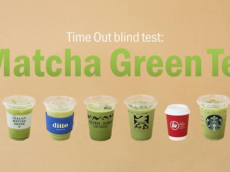 Blind taste test: Who has the best iced matcha latte in Bangkok?