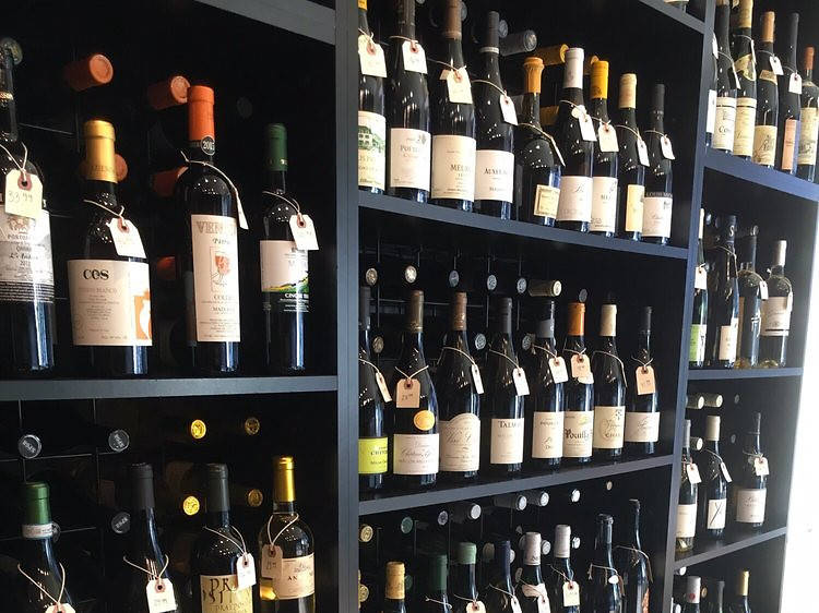 Find the perfect wine at Brix Wine Shop