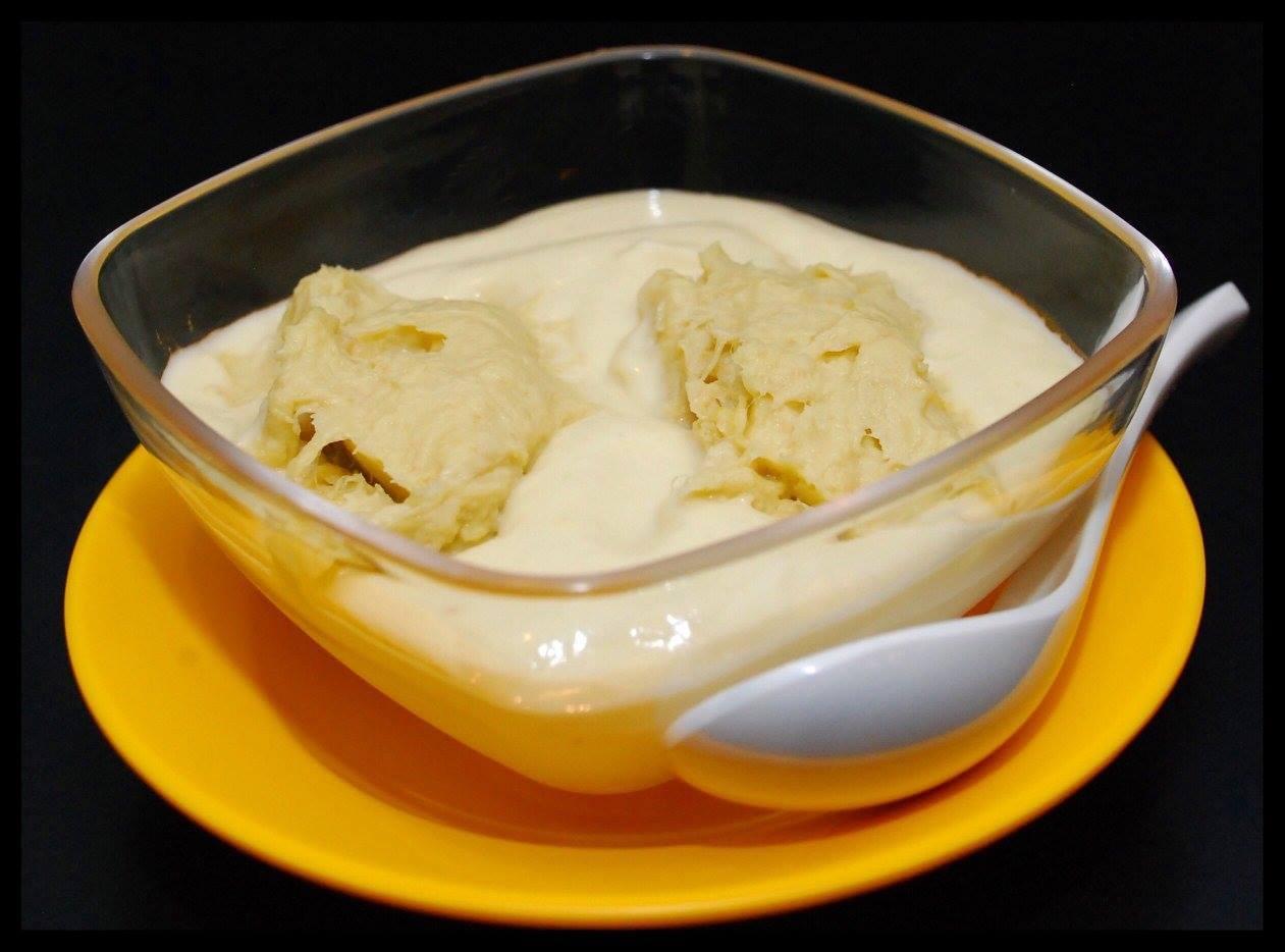 Dessert Bowl – Durian Mousse Double Shot