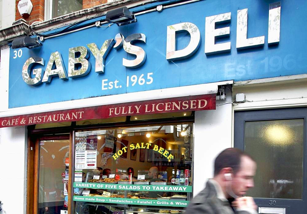 West End latke legend Gaby's Deli is closing