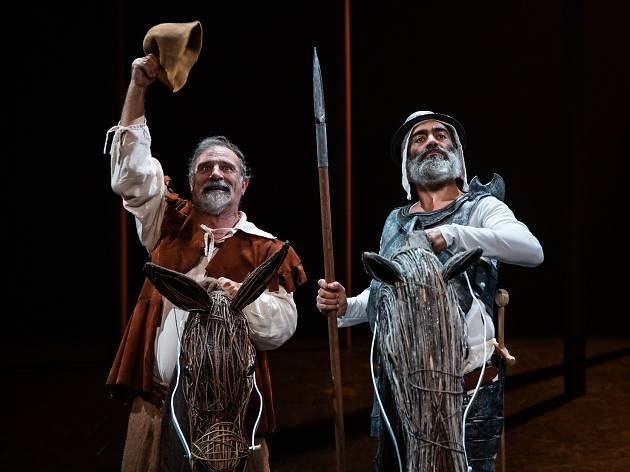 A vida do grande D. Quixote de La Mancha e do gordo Sancho Pança