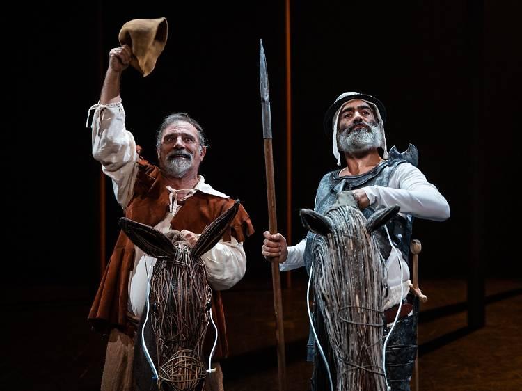 """Vá ao teatro ver """"A vida do grande D. Quixote de la Mancha e do Gordo Sancho Pança"""""""