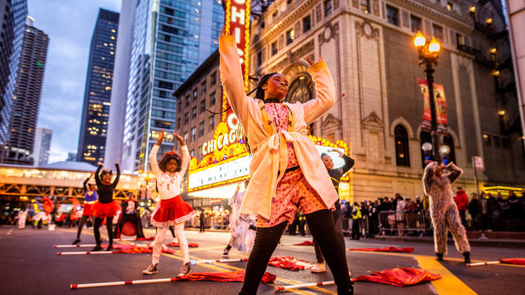arts in the dark 2018, halloween parade