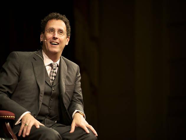 Tony Kushner al Hearbst Theatre de San Francisco el novembre de 2010